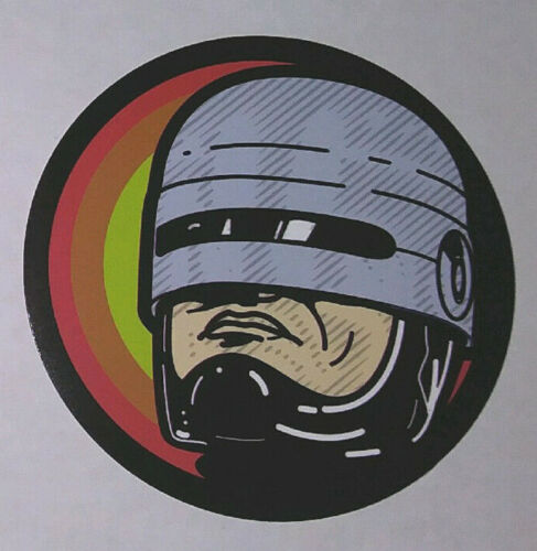 STICKER- RoboCop - Horror, Sci-Fi, movie, cult, Robo Cop, cyberpunk