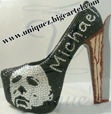 Halloween Heels (3d Michael Myers Pumps) - Halloween 3d Michael Myers