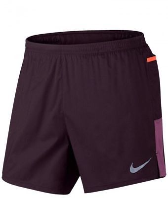 09a97864e496 Nike Trail Colordry Running Athletic Shorts Mens Port Wine Lined Size 2XL  XXL