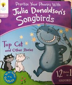 Julia Donaldson's songbirds 12 in 1 book