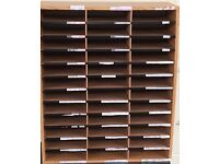 Paper storage unit - shelf for schools, mailroom, documents