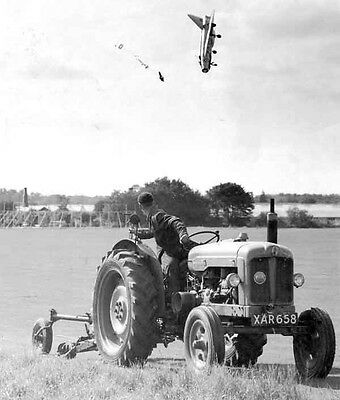 RAF English Electric Lightning Fighter Aircraft 6 x 4 Print