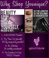 Younique Products (triple your eyelash length and volume!!!)