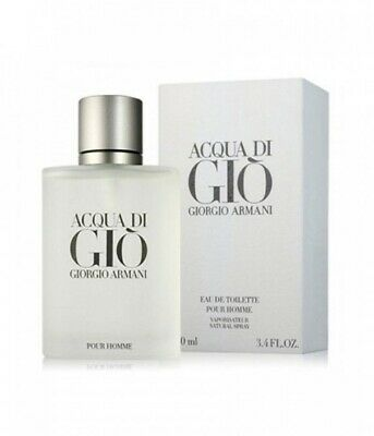Acqua Di Gio By Giorgio Armani 3.4 oz/100ml Eau de Toilette For Men New & Sealed