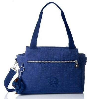 NEW KIPLING Elysia Medium Shoulder Across Body handbag Bag jazzy Blue Rrp£84