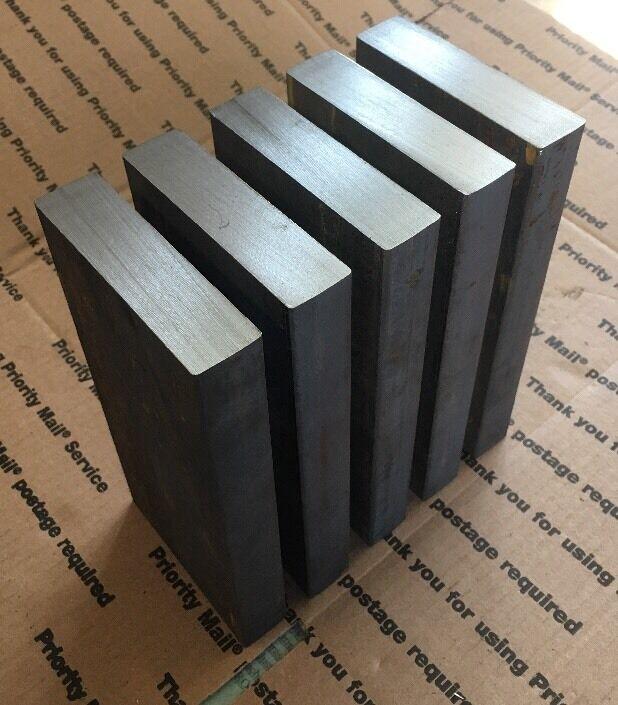 "1"" X 4"" Steel Flat Bar THICK Blacksmith Bench Plate Welding Bracing Target 8"" L"