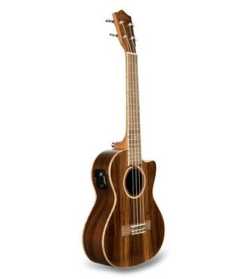 Lanikai Solid Morado Tenor Uke Acoustic/Electric Ukulele +FREE Bag & 3-Day Ship!