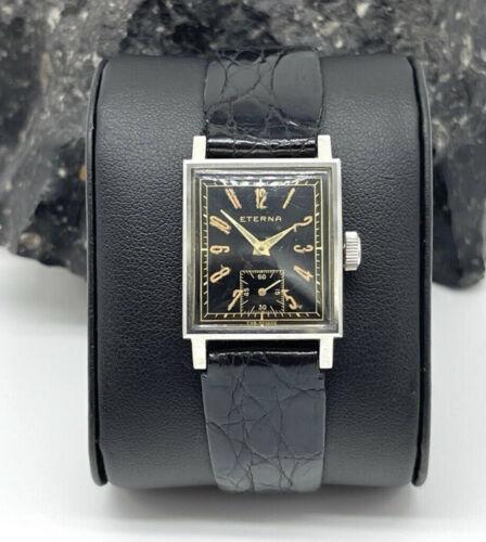 Eterna Art Deco Vintage Uhr Rarität 30s 40s Selten