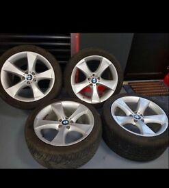BMW E70 X5/6 alloys including tyres