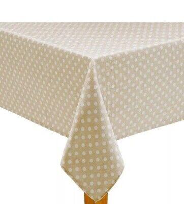 Celebrate Spring Together NeutralPolka Dot Print 60 X 84 in Oblong Tablecloth](Polka Dot Tablecloths)
