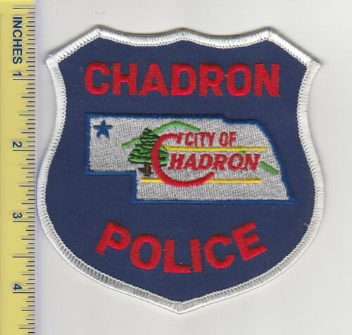 US Police Department Patch Chadron Nebraska Police Department