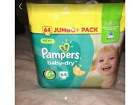 Pampers size 6+ nappies