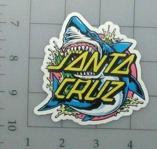 Santa cruz sticker skate skateboard cell laptop bumper vinyl decal weatherproof