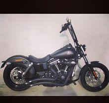 Harley Davidson street bob 2014 Huntly Bendigo Surrounds Preview