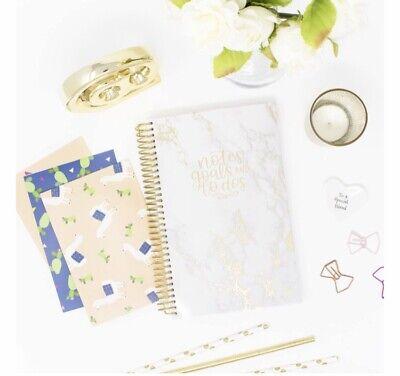 New Marble Bound To-do Book Notes Teacher Nurse Student Wedding Organizer