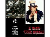 Wanted all scrap metal free collection in Brighton and hove