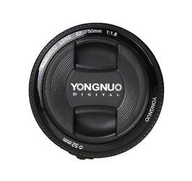 BRAND NEW Yongnuo EF YN 50mm F/1.8 for CANON & NIKON