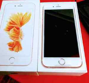 BRAND NEW Iphone 6s plus 128gb Rose Gold Rogers Fido Chatr