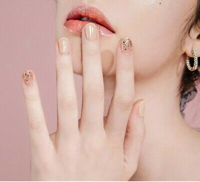 [Ohora] Self Gel nail art patch Sticker 30pcs K-beauty N Chiffon
