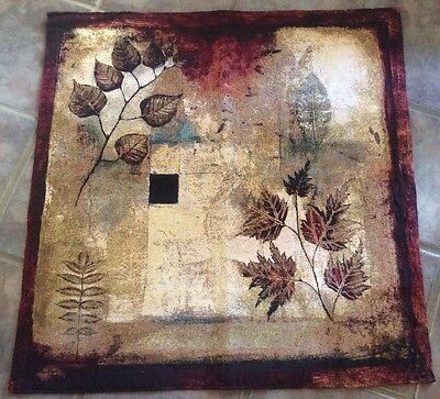 Fine Art Tapestries Abstract Autumn Leaves Small Wall Tapestry 34