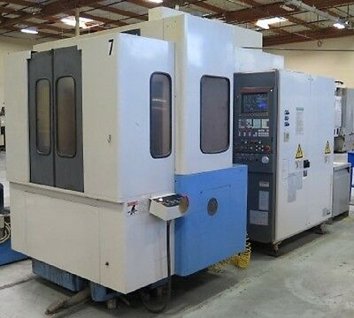Mazak Fh480x Cnc Horizontal Machining Center 15.7 Tsc Hmc - Haas Mori Okuma