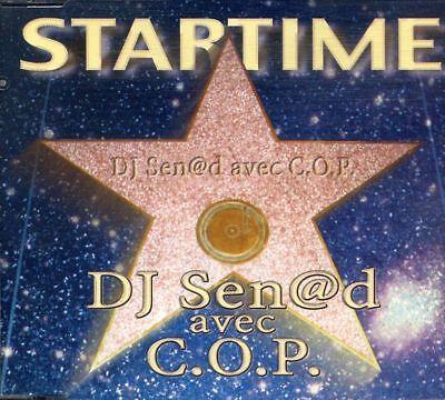 DJ Sen@d avec C.O.P. - Startime ° Maxi-Single-CD von 1999 ° WIE NEU ° Senad COP (Wie O P)