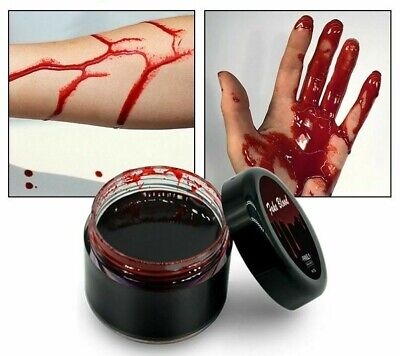 Ultra-realistic Fake Blood Halloween Body Paints Artificial Cosplay Makeup Paint](Realistic Halloween Makeup)