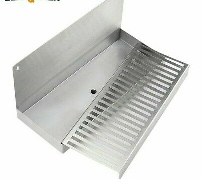 Beer Drip Tray Stainless Wall Mounted Craft Beverage Dispenser Homebrew Bar Tool