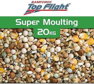 Pigeon Food Seed Super Moulting Resting Bamfords Top Flight 20kg  BMFD DS