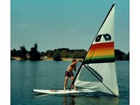 "3.7 metre ""Waikiki"" Sailboard by Alpha of Austria - Windsurfer - Paddleboard"