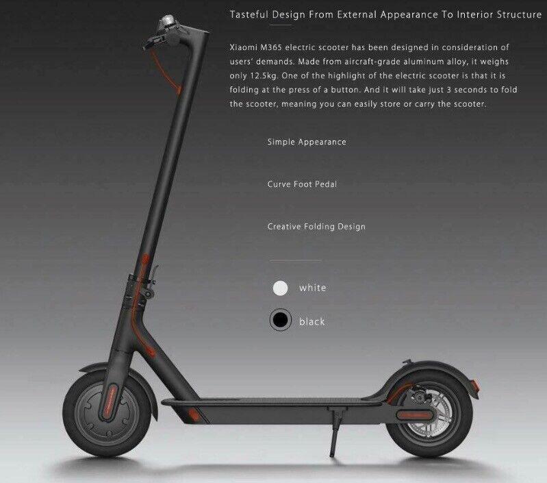Xiaomi M365 EU Version Electric Scooter Brand New Original | in Acton,  London | Gumtree