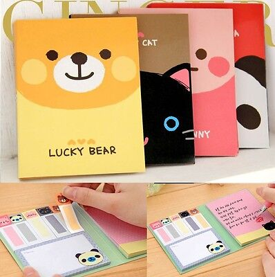 Animals Sticker Post-It Point It Marker Memo Flags Sticky Notes Cute Bookmark  on Rummage