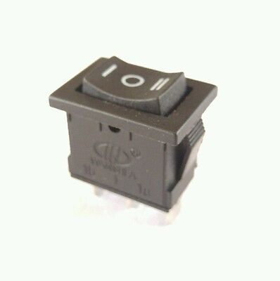 New 3 Position Spdt Rocker Switch 3 Prong Snap In On Off On Ships Usa Free Mini