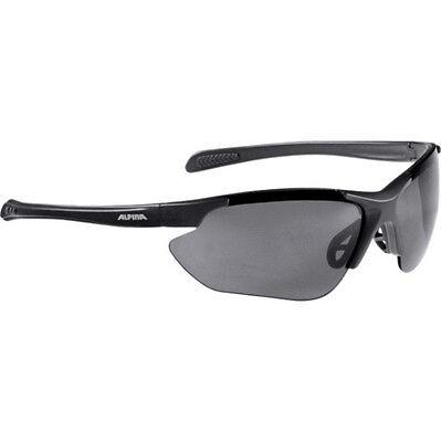 Alpina Fahrradbrille Sportbrille Jalix black matt