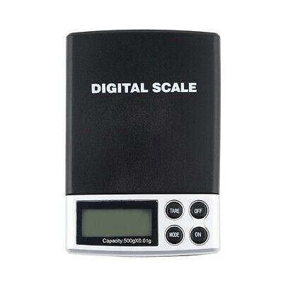 500g x 0.01g Digital Pocket Scale Jewelry Weight Balance Scale Precision RT