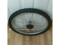 "24"" Bike Wheel (Rear) For Hybrid/Mountain Bikes"