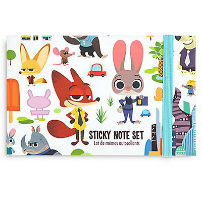 Back To School Stores (NWT Disney Store Back to School Authentic Zootopia Sticky Note)