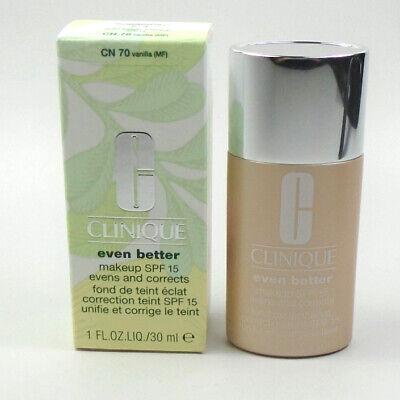 Clinique Even Better Makeup SPF15 Evens & Corrects Foundation 70 VANILLA