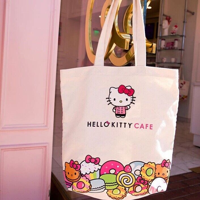 Hello Kitty Cafe Exclusive Chef Tote Bag Rare Brand New In Package