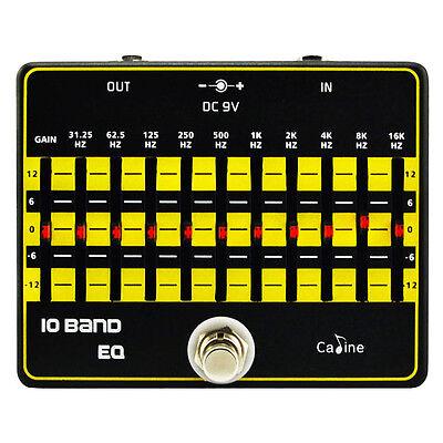 Caline CP-24 10 Band EQ Equalizer Pedal