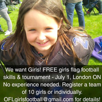 Free Girls Football Event - spaces limited!