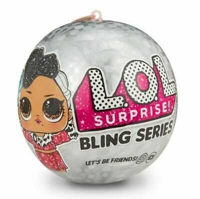 LOL SURPRISE! BLING SERIES DOLL BALL CHRISTMAS AUTHENTIC MGA
