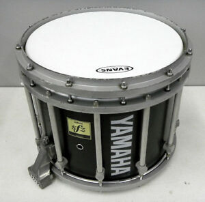 yamaha sfz series 15 marching band snare drum with carrier ebay. Black Bedroom Furniture Sets. Home Design Ideas