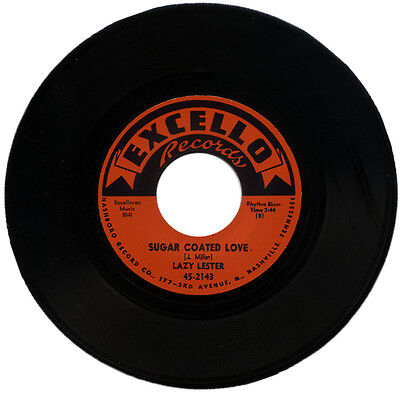 """LAZY LESTER  """"SUGAR COATED LOVE""""  50's R&B CLASSIC MOVER    LISTEN!"""
