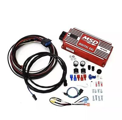 MSD Digital 6AL Ignition Control Box WITH Rev Limiter - SBC/BBC/SBF