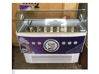 Ice Cream Freezer Commercial Display Counter