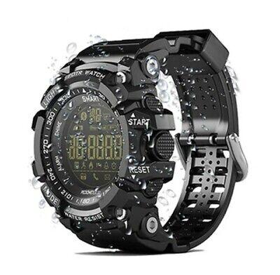Sports Smart watch EX16 Black Military Waterproof IP67 Pedometer Sport Watch