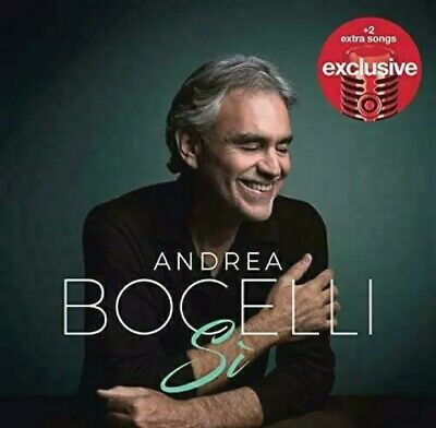 Andrea Bocelli: Si Deluxe Edition w/ 18 tracks Audio [CD]