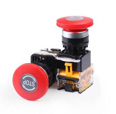 La38-11zs Stop Self Locking Emergency Stop Button Switch