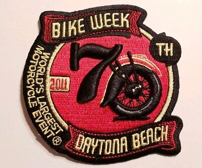 2011 Official Daytona Bike Week Event Patch *New*